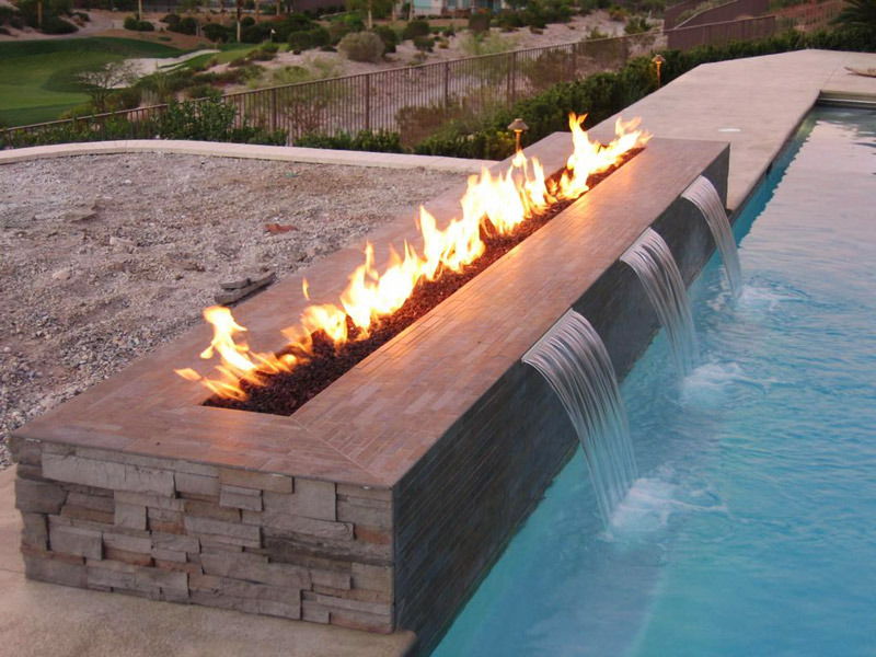 Outdoor Fireplaces Gallery / Portfolio